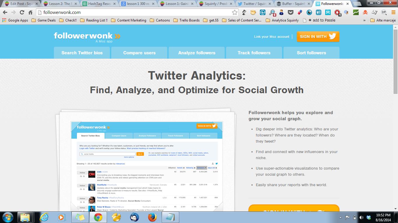 followerwonk for 300 readers